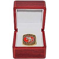 $99 » SAN FRANCISCO 49ERS (Colin Kaepernick) 2012 NFC CHAMPIONS Rare Collectible High-Quality Replica NFL Football Gold Championship Ring…