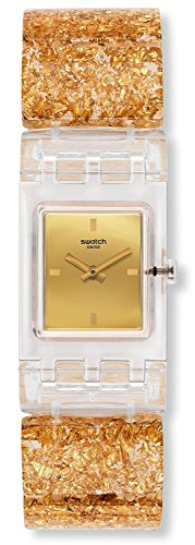SWATCH watch SQUARE GOLDEN JEWEL S SUBK159B Ladies