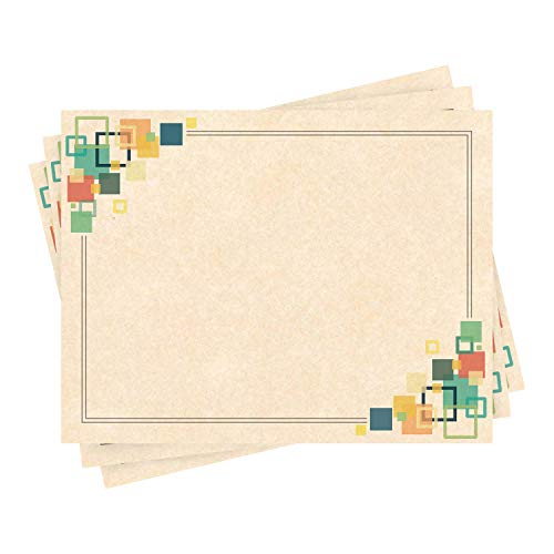 Award Certificates Cardstock - Blank Parchment Recycled Diploma Card Stock Paper - Letter Size, 8.5 x 11