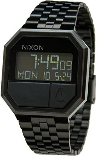 Nixon Re-Run Digital Watch All Black