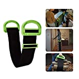 2 Pcs Adjustable Moving and Lifting Straps for Furniture, Boxes, Mattress, Construction Materials, or Other Heavy, Bulky, or Awkward Objects, Single or Two Person Carrying: more info