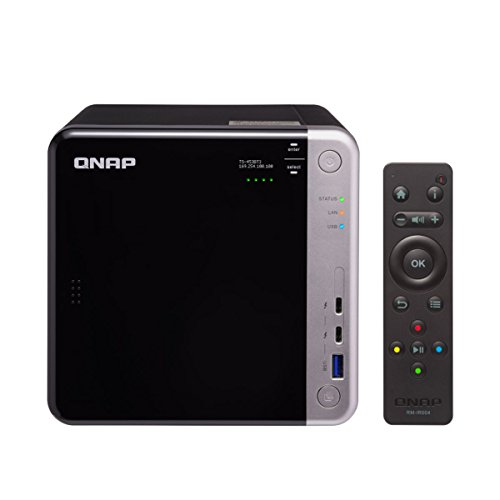 Qnap TS-453BT3-8G-US 4-bay Thunderbolt 3 NAS. Intel Celeron Apollo Lake J3455 Quad-core CPU, 8GB RAM, SATA 6Gb/s by QNAP