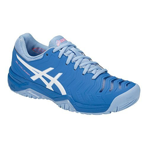 ASICS Women's Gel-Challenger 11 Tennis Shoes, Blue/White, Size 8