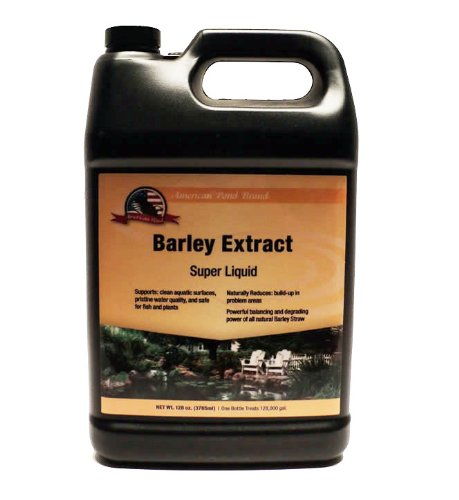 (Super Strength Barley Straw Extract 128oz Concentrate for Ponds)