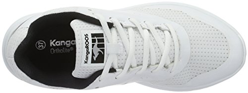 Kangaroos Women's Start One W Trainers, Black/Magenta White (White/Black 005)