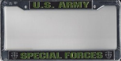 Eagle Crest U.S. Army Special Forces Chrome Frame