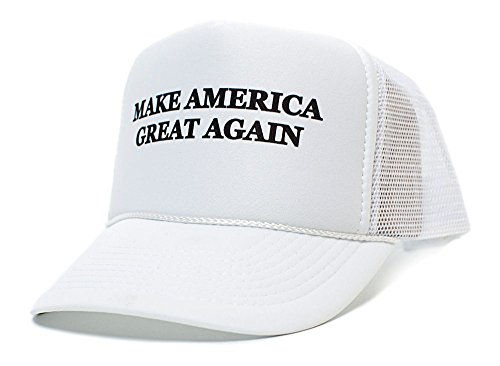 Make America Great Again Donald Trump 2016 Unisex-Adult One size Hat White/White