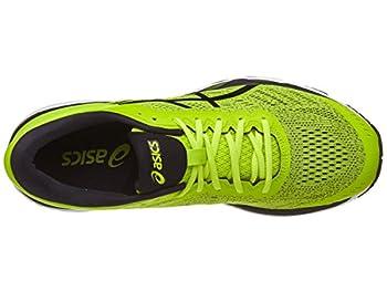 Asics Men's Gel-kayano 24 Running-shoes, Sulphurblackwhite, 11 D(m) Us 3