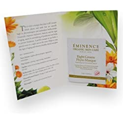 Eminence Eight Greens Phyto Masque Card Sample Set of 6 Travel Size *Hot*