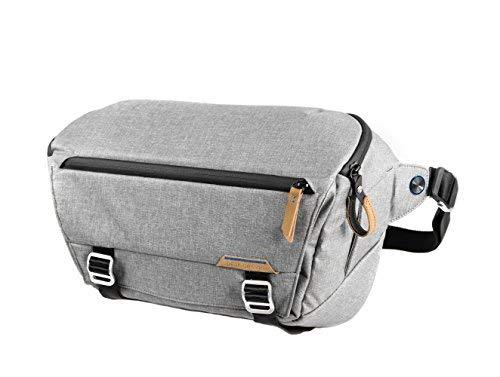 (Peak Design Everyday Sling Case Grey - Camera Cases (Sling Case, Universal, Shoulder Strap, Notebook Compartment, Grey))