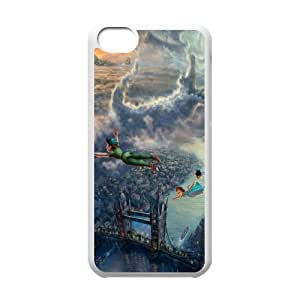 Popular custom case peter pan phone Case Cove For Iphone 5c JWH9203433