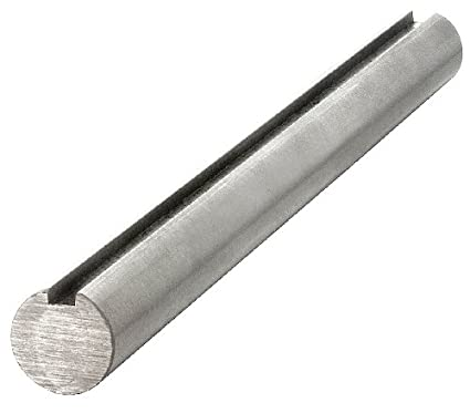 5//8 GKS-1045-12 KEYS Carbon Steel Grade 1045 Keyed Shaft,Dia 5//8 In,12 In L,CS