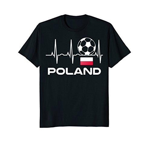 Poland Soccer Jersey T-Shirt - Polish Football Flag Shirt ()