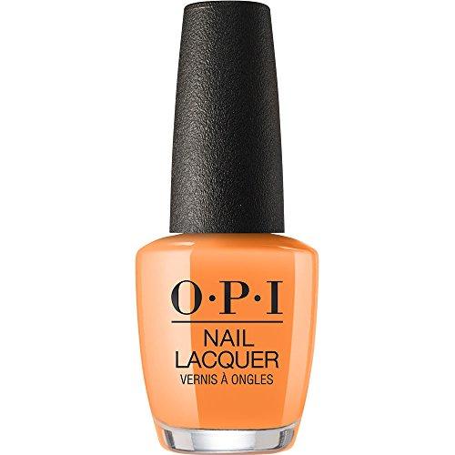 bright orange nail polish - 7
