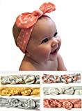 Baby Reece and Co- Baby Bow Headbands. (Pink, Yellow, Gray, White, Flamingo, Flowers)