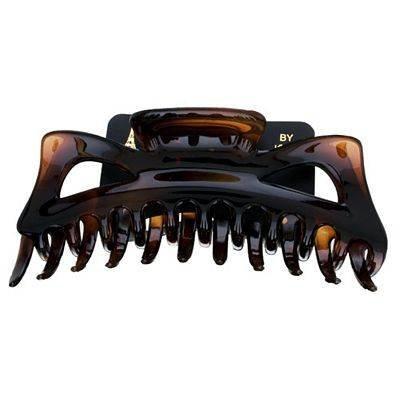 Caravan Jumbo Hair Claw in Tortoise Shell Color of Celluloid - Browns Caravans