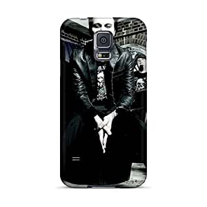 Protector Hard Phone Case For Samsung Galaxy S5 (fhj12539OCvq) Unique Design Attractive His Infernal Majesty Band HIM Image
