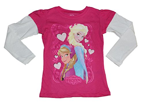 Disney Frozen Girls Long Sleeved Shirt