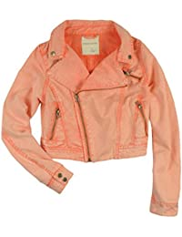 Amazon.com: Orange - Denim Jackets / Coats, Jackets & Vests ...