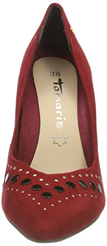 Chili Closed Ballet 533 Flats Toe Tamaris Women's Red 22406 Ax7OS0