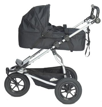 Carry Cot Double - Red (STROLLER NOT INCLUDED) by Mountain Buggy (Image #1)