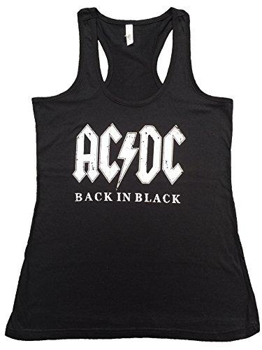 AC/DC Back in Black Ladies