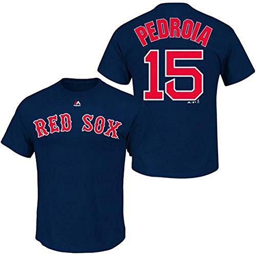 Boston Kids T-shirt - Outerstuff Boston Red Sox Dustin Pedroia #15 Kids T-Shirt, 7 Years
