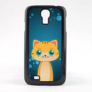 Case Fun Case Fun Orange Tabby Cat by DevilleART Snap-on Hard Back Case Cover for Samsun Galaxy S4 Mini (I9190)