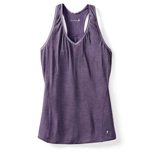 Smartwool T-shirt pour homme Motif Micro 150Débardeur pour femme NTS–Désert Violet Taille L
