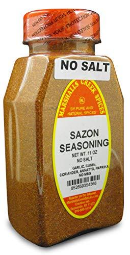 Marshalls Creek Kosher Spices, (st07), SAZON SEASONING NO SALT, WITH ANNATO 11 oz