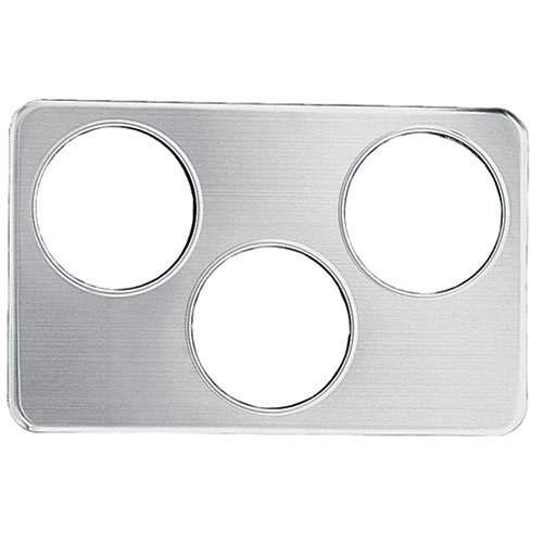 Stanton Trading AP666 Adapter Plate with 3 Holes, 6-3/8-Inch, Stainless Steel