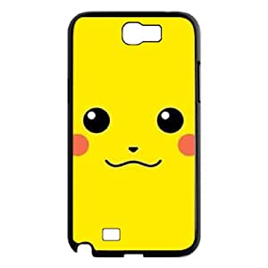 D-PAFD Diy Phone Case Smile Face Pattern Hard Case For Samsung Galaxy Note 2 N7100
