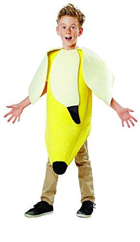 [Banana Costume, Medium (8-10)] (Fruit Costumes For Kids)