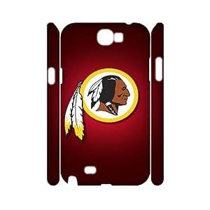 GGMMXO Washington Redskins Phone 3D Case For Samsung Galaxy Note 2 N7100 [Pattern-6]