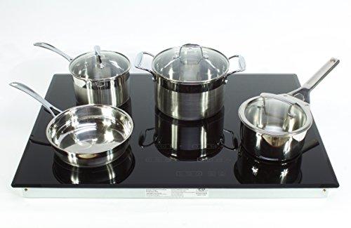 induction cooktop four burner - 1