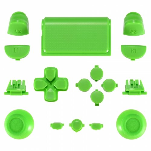ps4 controller touchpad green - 9