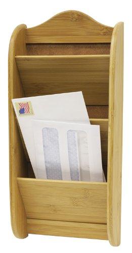 Home Basics Letter Rack, Bamboo by Home Basics