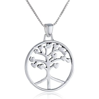 Amazon Com Sterling Silver Quot Roots Of Peace Run Deep