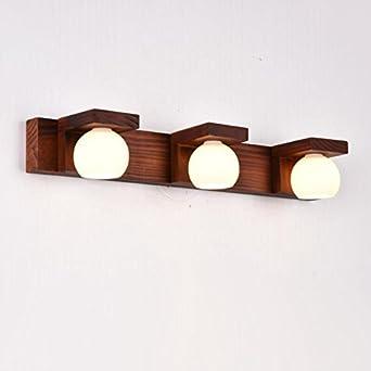 CNBBGJ Massivem Holz Lampen minimalistisches Schlafzimmer Kommode ...