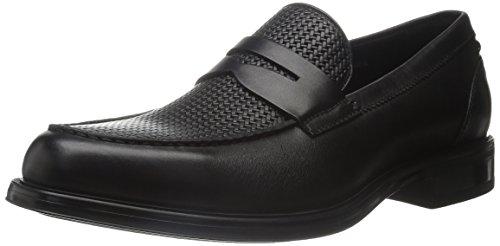 Black on Loafer Neil Textured Slip Aquatalia Men's StxUY