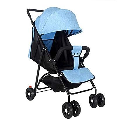 Amazon.com: Cochecito de bebé plegable, portátil ...