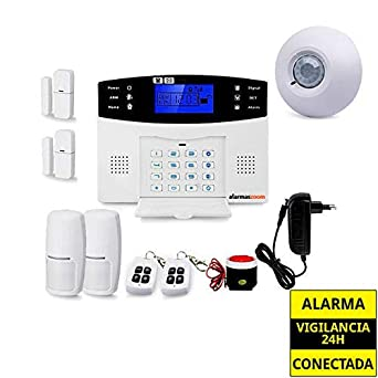 Sistema de alarma para casa con detector PIR techo AZ017 ...