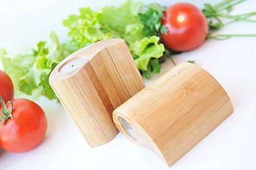 Bambum Ginger - Salt & Pepper Shaker (Set of - Bamboo Jar Ginger