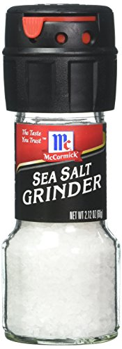 McCormick Culinary Sea Salt Grinder, 2.12 Ounce (Pack of 36)