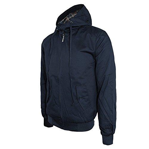 Blu marine Giacca Da Uomo Hooded Harrington 8xnCX7qIq