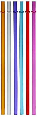 Acrylic Color Straws Set of 6 Fits 10oz 12oz 16oz 20oz Tervi