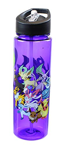Pokemon Eeveelutions Royal Blue Water Bottle [Just Funky]]()