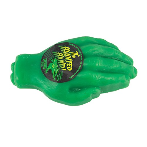 CREATURE Skateboard Wax HAUNTED HAND Green Skate Curb Ledge Wax