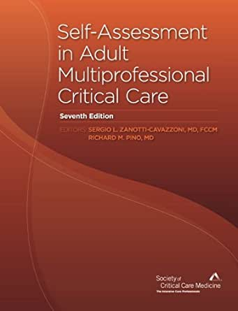 AmazonCom SelfAssessment In Adult Multiprofessional Critical