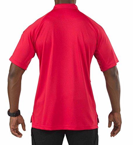 Da Polo Corte A Range Uomo Performance Rosso 11 Red Maniche 5 wqBxpp